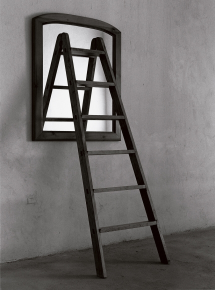 Chema Madoz, untitled, 1990, analog photograph on fiber paper with sulfide bath, 19 3/5 × 15 3/4 in.