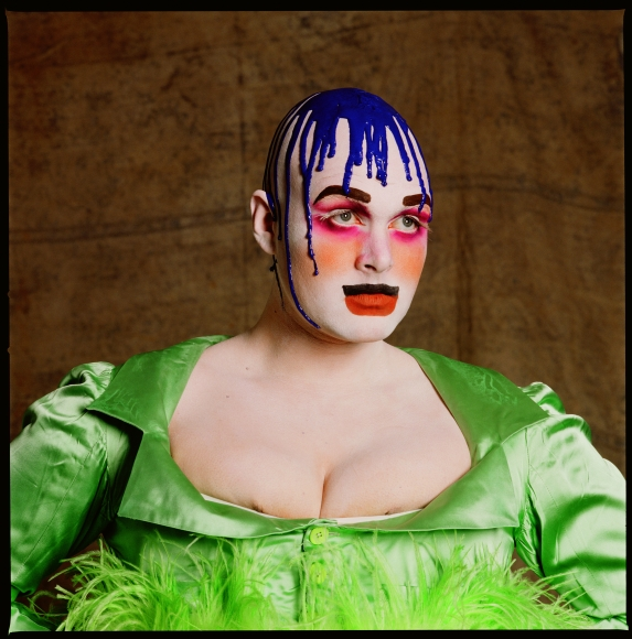 Fergus Greer, Leigh Bowery: Session I/Look 2, 1988