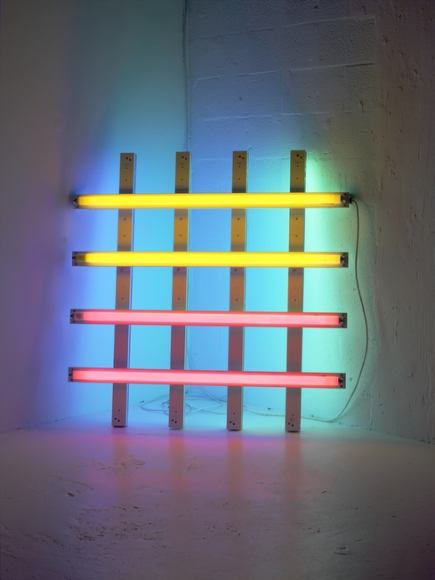 Dan Flavin, Untitled, in Honor of Harold Joachim #2, 1977