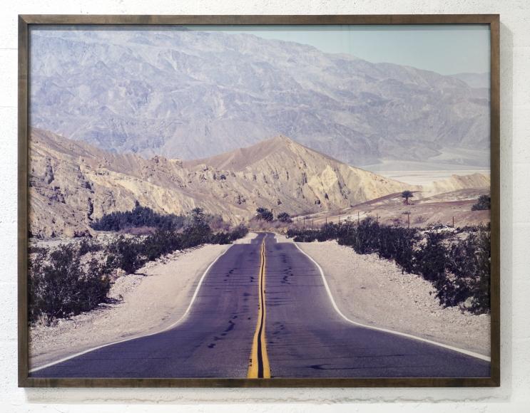 Doug Hall Hwy. 190, Death Valley, CA #1, 1998