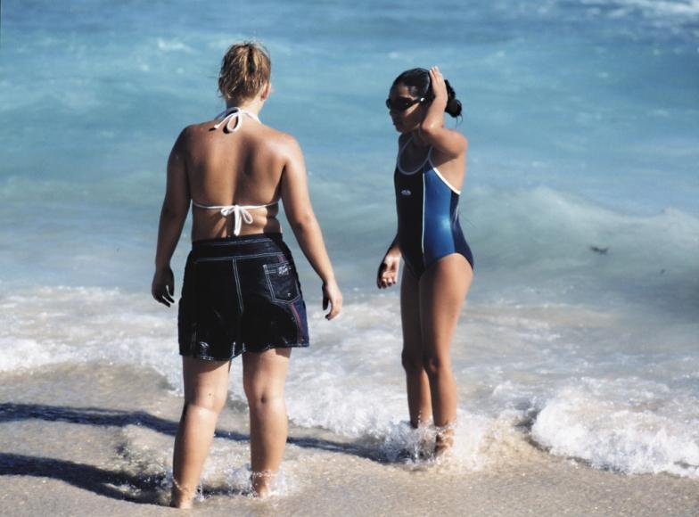 Beat Streuli Bondi Beach II, 1999