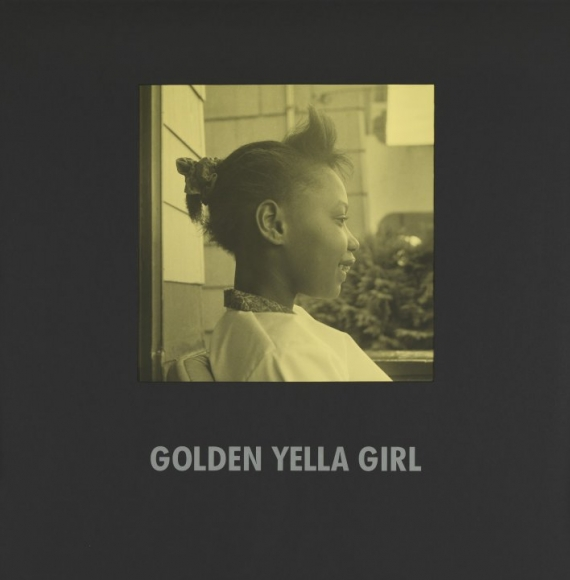 Carrie Mae Weems, Golden Yella Girl,1997, silver print with text on mat, 31 1/2x 31 1/2 inches