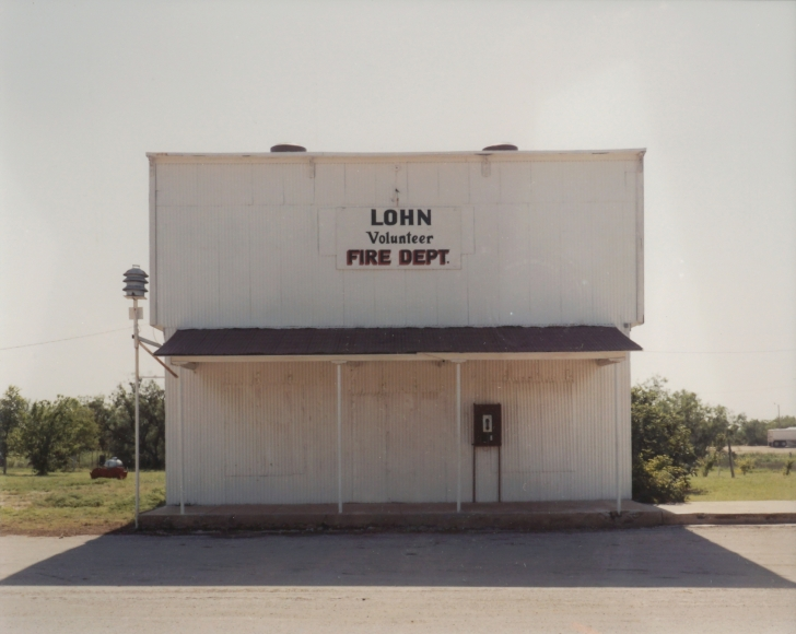 Peter Brown Fire Dept., Lohn, Texas (from the Great Plains Project), 1994