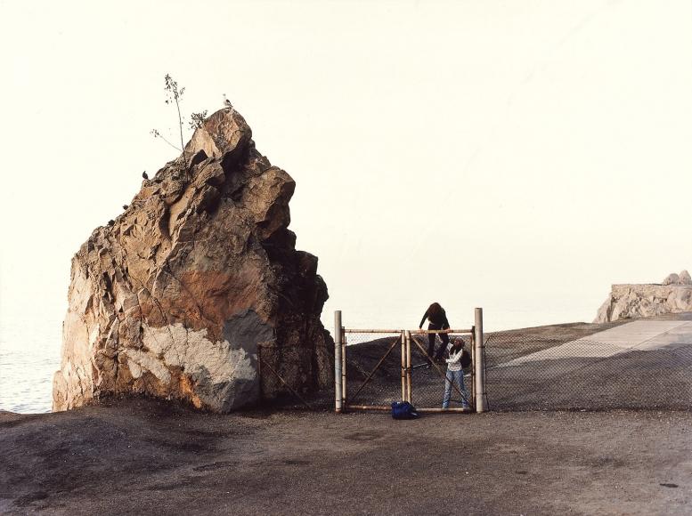 Justine Kurland,GIBRATOR (HIGHWAY 1, CALIFORNIA),2000, satin laminated c-print, 30 x 40 inches