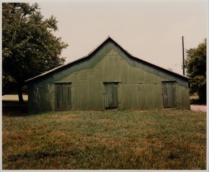 William Christenberry Green Warehouse, Newbern, AL, 1978