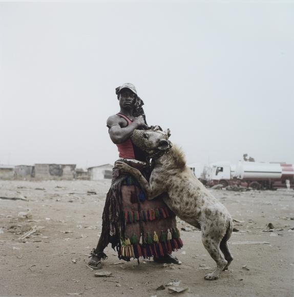 Pieter Hugo,Abdullahi Mohammed With Mainasara, Ogere-remo, Nigeria,2007,c-print,47 9/16 x 46 3/4 inches
