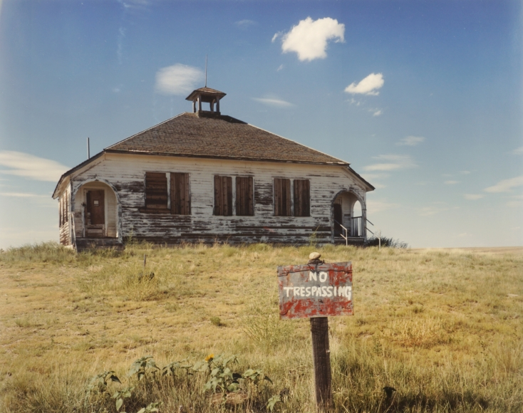 Peter Brown Abandoned Schoolhouse, southeastern Colorado (from the Great Plains Project), 1992