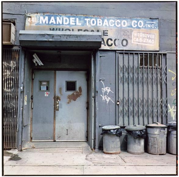 Zoe Leonard, Mandel Tobacco, 1990