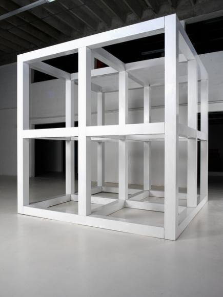 Sol LeWitt, Eight Unit Cube (No. 7402), 1976