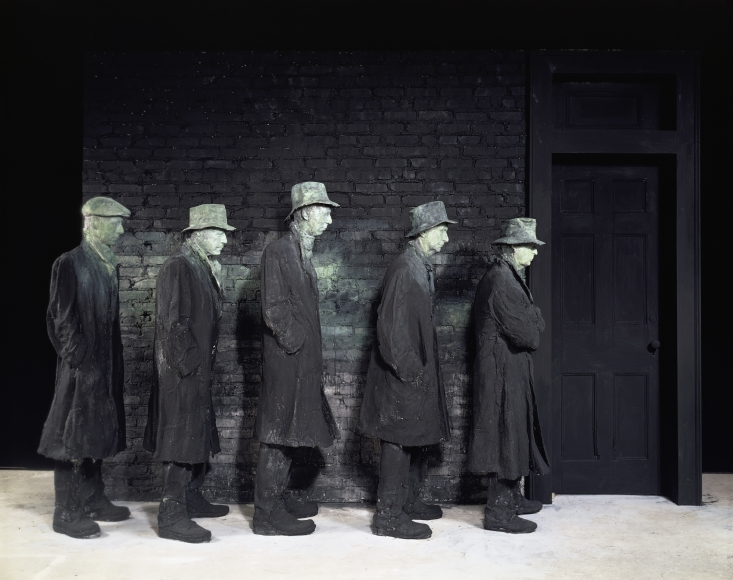 George Segal, Depression Bread Line, 1991