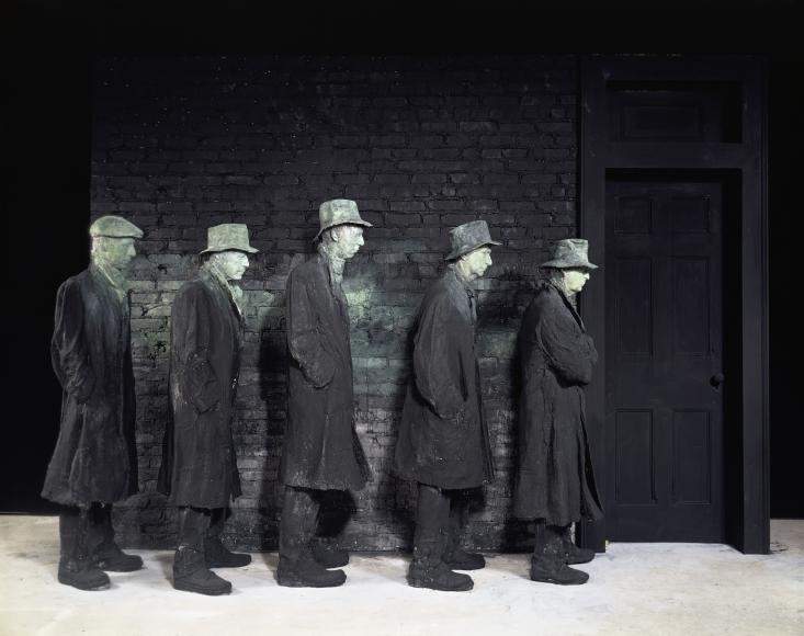 George Segal, Depression Bread Line, 1991