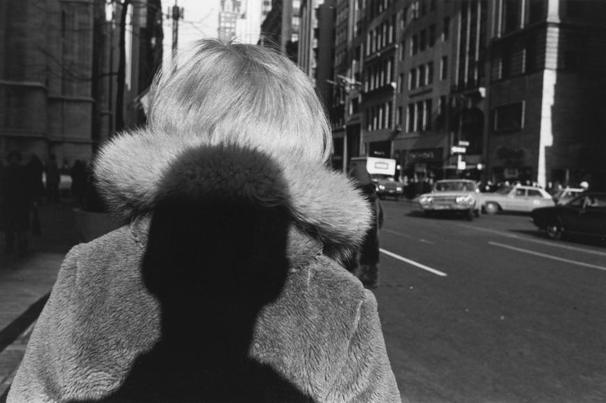Lee Friedlander, Shadow—New York City, 1966