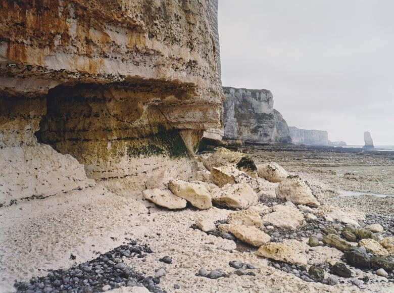 Jem Sotham Yport, March 2005 (from the series The Rockfalls of Normandy), 2005