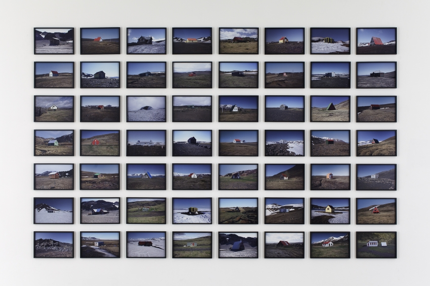 Olafur Eliasson, The Hut Series, 2012