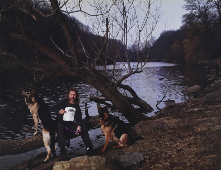 Taryn Simon, Scene of the Crime, Cloves Lake Park, Staten Island, New York, 2002, 48 × 62 in.