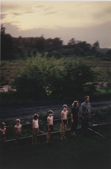 Paul Fusco, #121, RFK Funeral Train, 1968