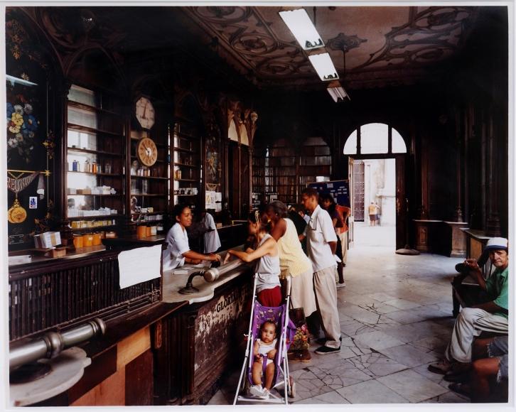 "Andrew Moore Farmacia ""Sarra"", Havana, Cuba, 1998"