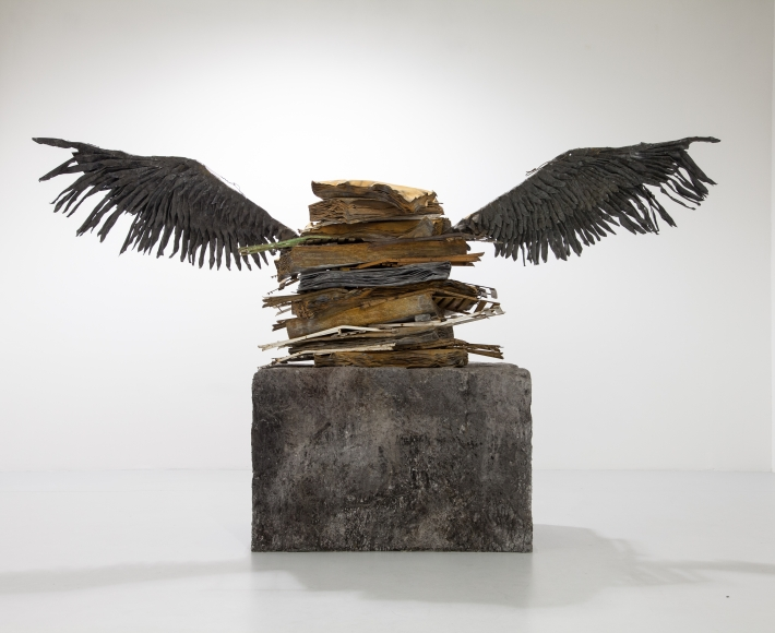 Anselm Kiefer, Sprache der Vögel (Language of the Birds), 1989