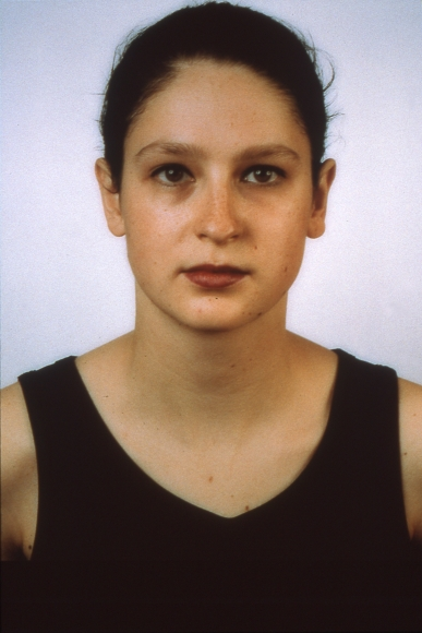 Thomas Ruff, Portrait—Untitled, 1989, C-print, 82 5/8 × 63 in.
