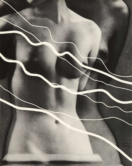 Man Ray, Électricité, 1931, photogravures of rayographs,10 ¼ x 8 inches