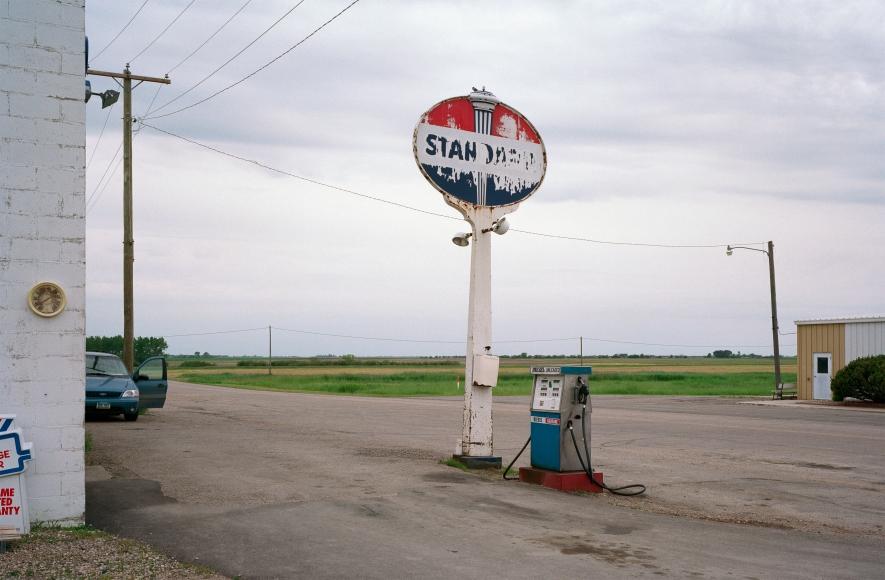 Jeff Brouws Main Street, Antler, North Dakota, 2004