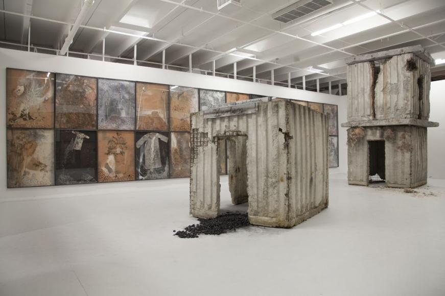 Anselm Kiefer, Geheimnis der Farne (Secret of the Ferns), 2007