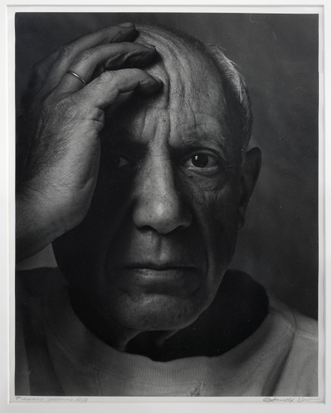 Arnold Newman Picasso, Vallauris, 1981