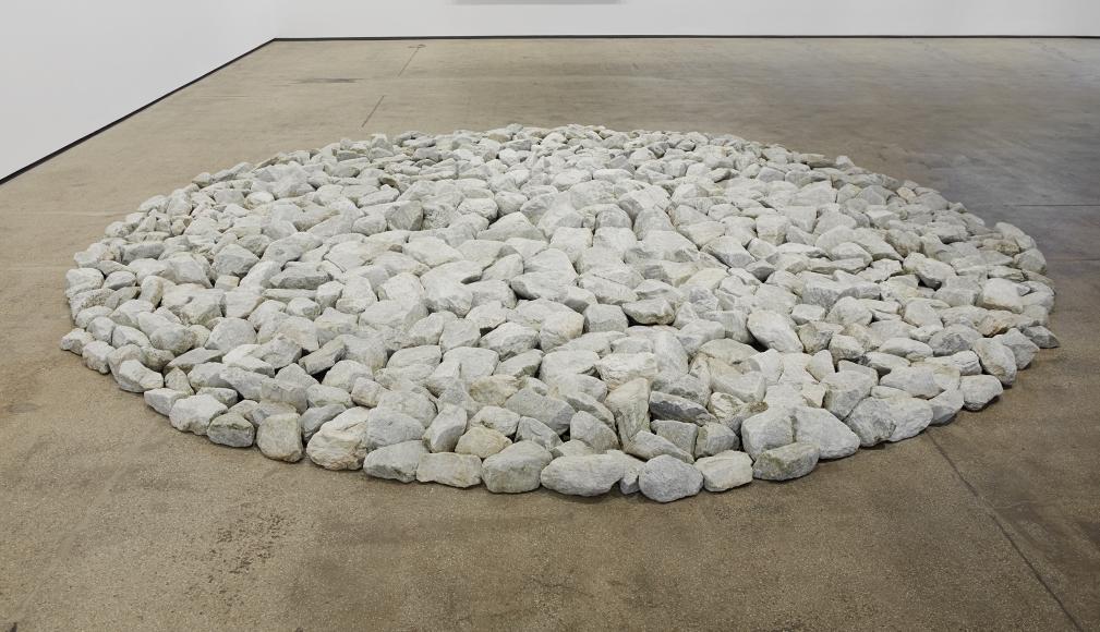 Richard Long Leuk Stone Circle,2000