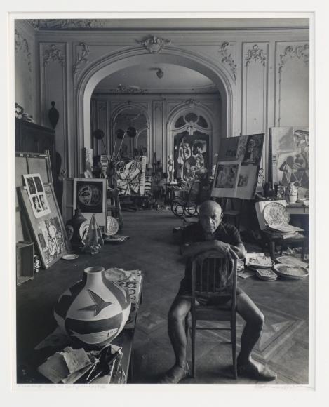 Arnold Newman Picasso, Villa La Californie, 1981