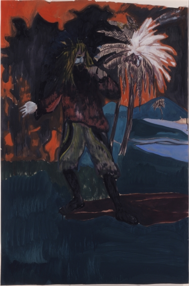 """""""Untitled"""", 2005 Oil on paper"""