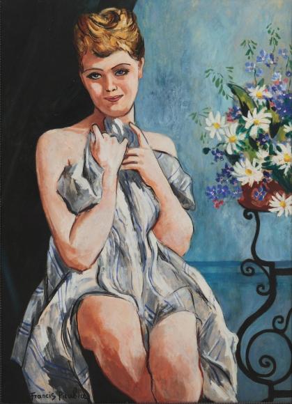 """""""Femme au Bouquet"""", 1942"""