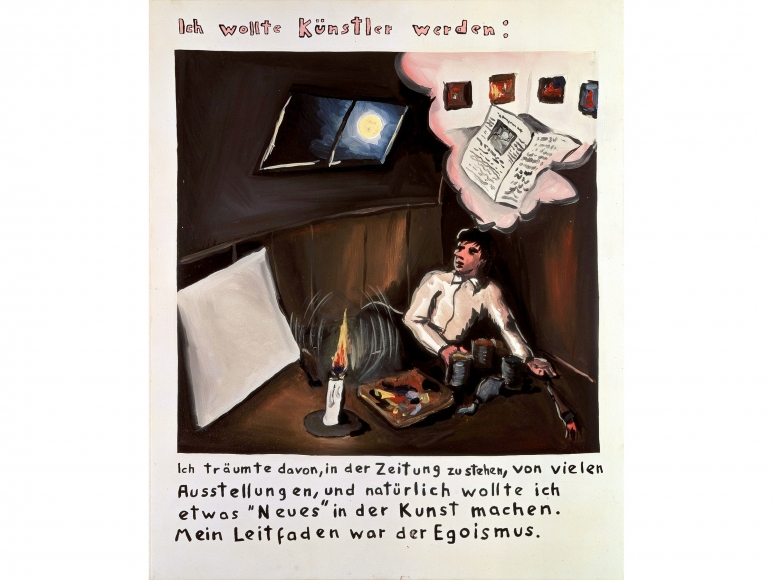 """""""I Wanted to be an Artist"""", 1971"""