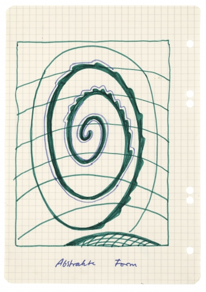 """""""Abstrakte Form (Abstract Form)"""", ca. 1967-1968"""