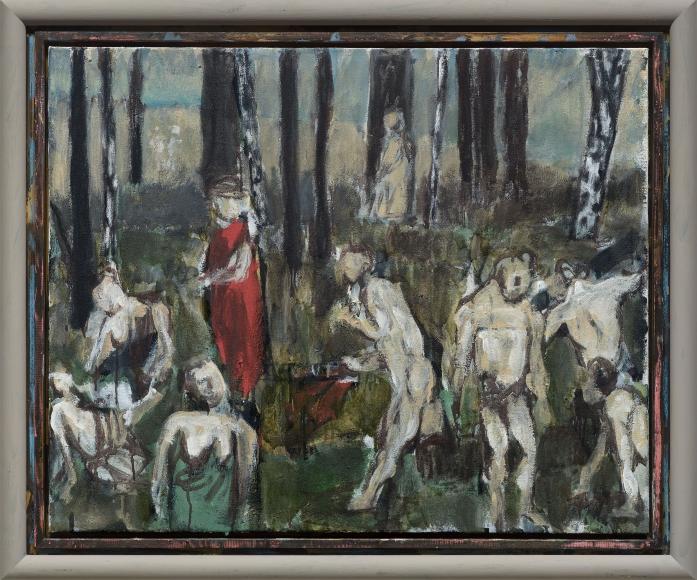 """""""Das Gebet im Wald (The Prayer in the Forest)"""", 2017"""