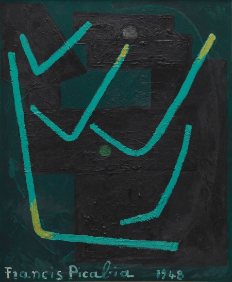 """""""Untitled"""", 1948 Oil on canvas"""
