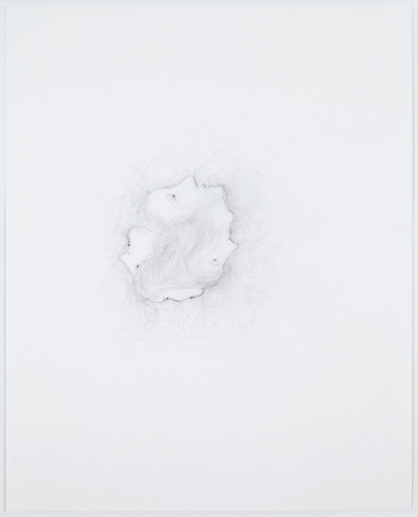 """""""Untitled"""", 2012 Pencil on paper"""