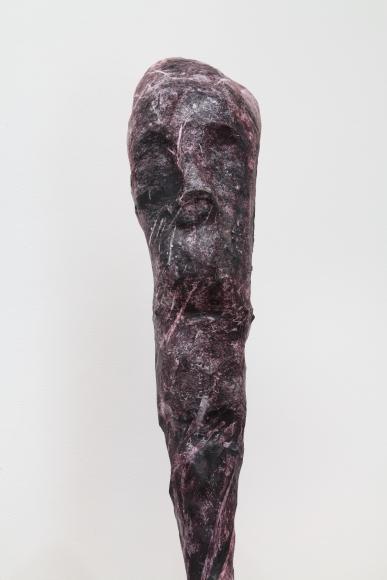 """Bog-Piper"", 2012 Copper, paper, papier-maché, wood"