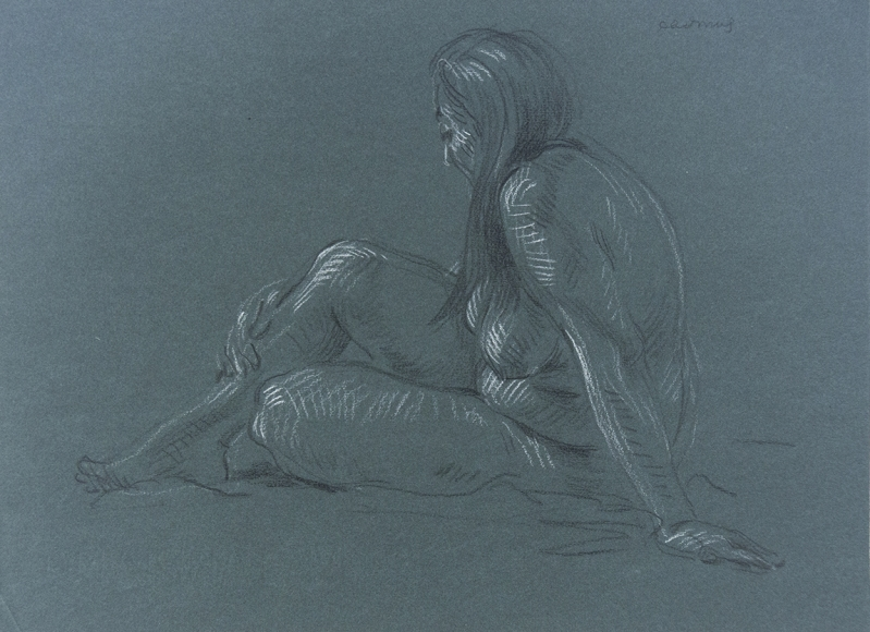 """Female Nude"", ca. 1980-1989"