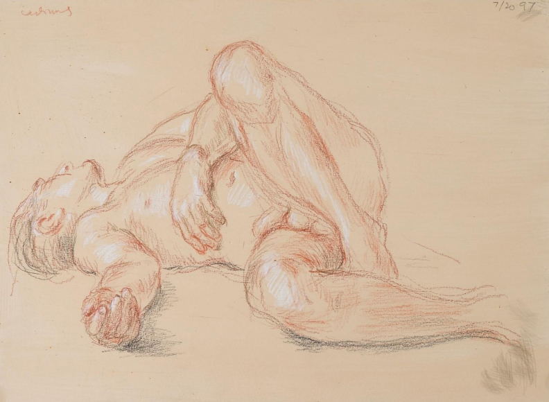 """""""Untitled Reclining Nude"""", 1997"""
