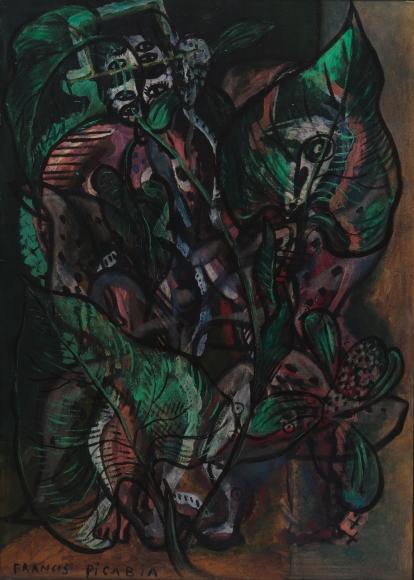 """""""Deux personnages"""", ca. 1925-1932"""
