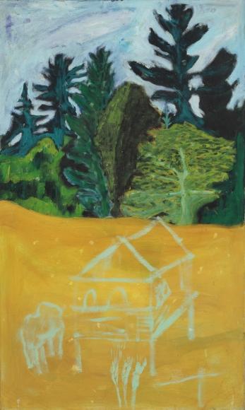"""""""Winter Wheat Field"""", 1986-1988"""