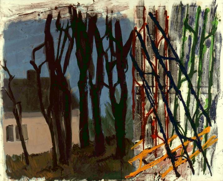 """""""Landschaft"""", 1997 Oil on canvas"""