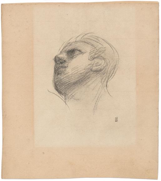 """""""Étude pour la guerre (Study for War)"""", 1861"""