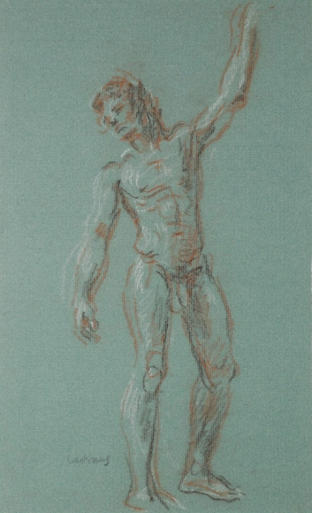 """""""Standing Male Nude"""", ca. 1990-1999"""