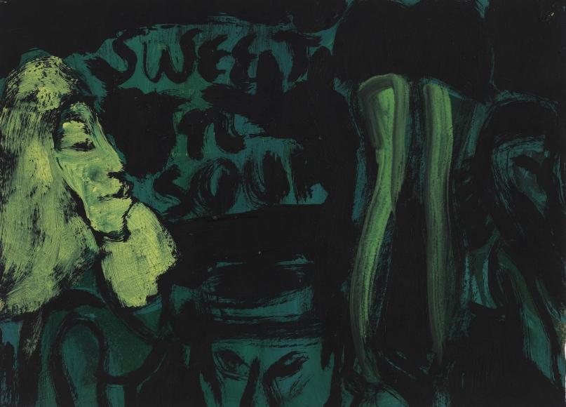 """Sweet N' Sour (green)"", 1986"