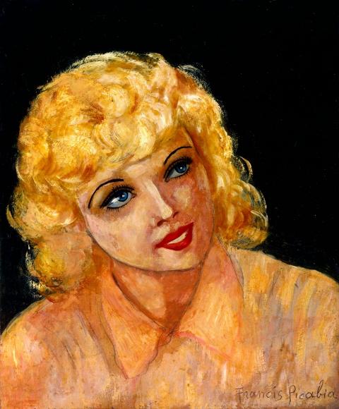 "FRANCIS PICABIA, ""Untitled(Portrait)"", 1940"