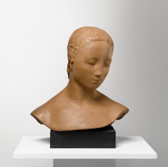 """""""Kopf der großen Stehenden (Frauenkopf)"""", 1911"""