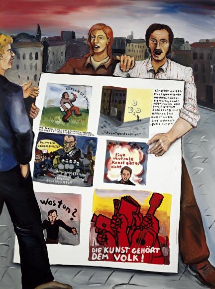 """""""Art Belongs to the People"""", 1974"""