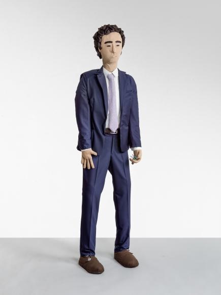 """""""Herr im blauen Anzug (Gentleman in a Blue Suit)"""", 2019"""
