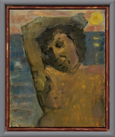 """Markus Lüpertz, """"Nymphe (Meer)"""", 2018"""